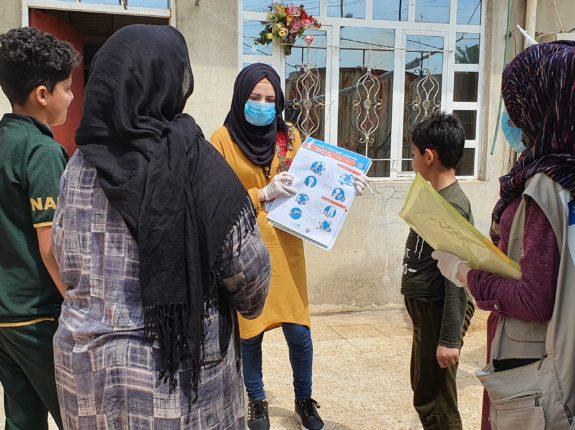 Raising awareness of COVID-19 in Iraq