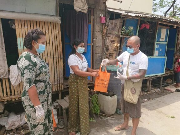 Helping workers affected by COVID-19 in Myanmar